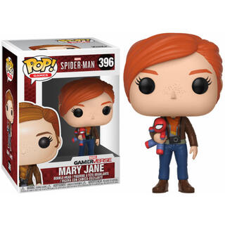Figura Pop Marvel Spiderman Mary Jane With Plush-