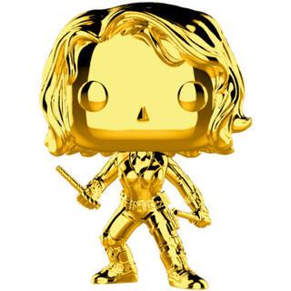 Figura Pop Marvel Studios 10 Black Widow Gold Chrome-