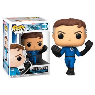 Figura Pop Marvel los 4 Fantasticos Mister Fantastic-