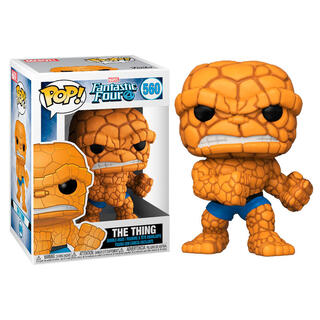 Figura Pop Marvel los 4 Fantasticos The Thing-