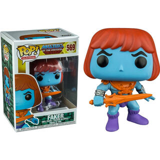 Figura Pop Master of The Universe Faker Exclusive-