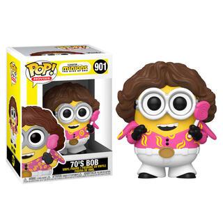 Figura Pop Minions 2 70's Bob-