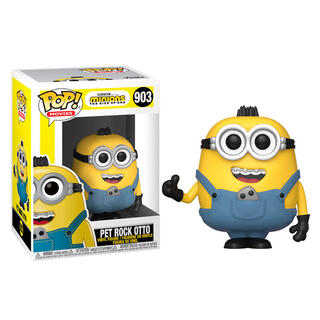 Figura Pop Minions 2 Pet Rock Otto-