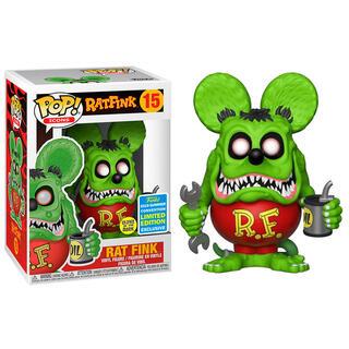 Figura Pop Rat Fink Glow Exclusive Sdcc-