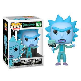 Figura Pop Rick & Morty Hologram Rick Clone-