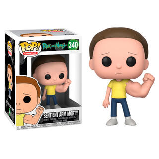 Figura Pop Rick & Morty Prison Sentinent Arm Morty-