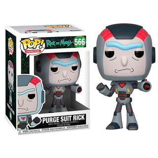 Figura Pop Rick & Morty Purge Suit Rick-