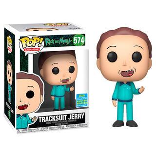 Figura Pop Rick & Morty Tracksuit Jerry Exclusive Sdcc-