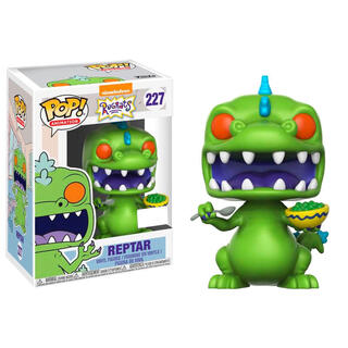 Figura Pop Rugrats Reptar With Cereal Box Exclusive-