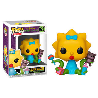 Figura Pop Simpsons Maggie Alien-