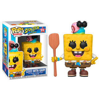 Figura Pop Sponge Bob Spongebob In Camping Gear-