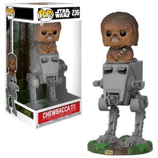Figura Pop Star Wars At-st With Chewbacca-