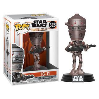 Figura Pop Star Wars Mandalorian Ig-11-