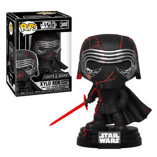 Figura Pop Star Wars Rise of Skywalker Kylo Ren Electronic-