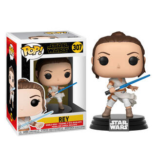 Figura Pop Star Wars Rise of Skywalker Rey-