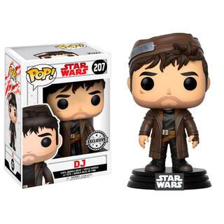 Figura Pop Star Wars The Last Jedi Dj Exclusive-