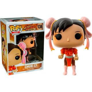 Figura Pop Street Fighter Chun-li Red Exclusive-