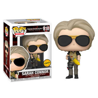 Figura Pop Terminator Dark Fate Sarah Connor Chase-
