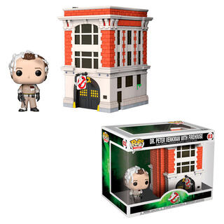Figura Pop Town Ghostbusters Peter With House-