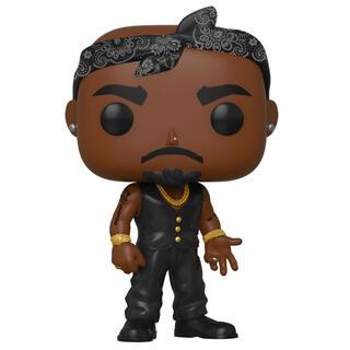 Figura Pop Tupac Vest With Bandana-