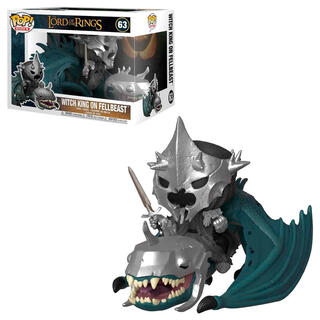 Figura Pop el Señor de los Anillos Witch King With Fellbeast-