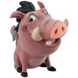 Figura Pumba el Rey Leon Disney Fluffy Q Posket-