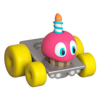 Figura Super Racers Five Nights At Freddy's Cupcake-