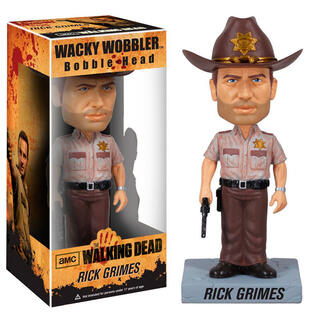 Figura Wacky Wobbler The Walking Dead Rick Grimes-