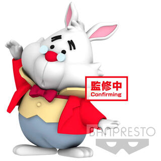 Figura White Rabbit Alice In Wonderland Disney Character Cutte Fluffy Puffy 4cm-