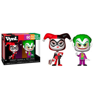 Figuras Vynl Dc Comics Harley Quinn & The Joker-