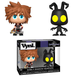 Figuras Vynl Disney Kingdom Hearts 3 Sora & Heartless-