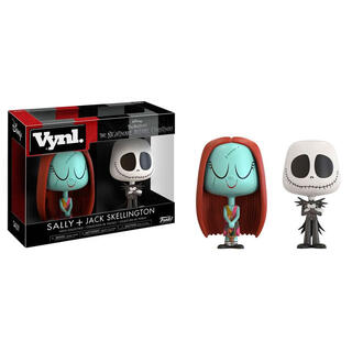 Figuras Vynl Disney Nightmare Before Christmas Sally y Jack-