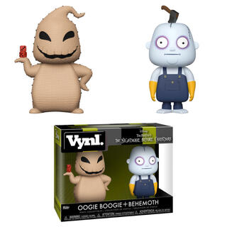 Figuras Vynl Disney Pesadilla Antes de Navidad Oogie Boogie and Behemoth-