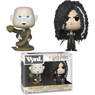Figuras Vynl Harry Potter Bellatrix & Voldemort-