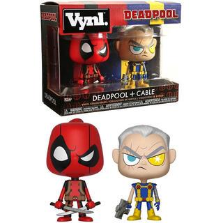 Figuras Vynl Marvel Deadpool & Cable-