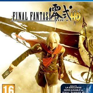 Final Fantasy Type-0 HD-Sony Playstation 4