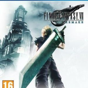 Final Fantasy VII Remake-Sony Playstation 4