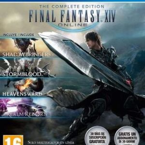 Final Fantasy XIV Complete Edition-Sony Playstation 4