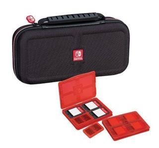 Funda de viaje + Estuche Cartuchos + Estuche microSD-Nintendo Switch