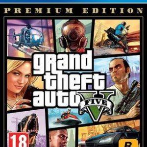 Grand Theft Auto (GTA) V Premium Edition-Sony Playstation 4