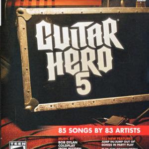 Guitar Hero 5-Microsoft Xbox 360