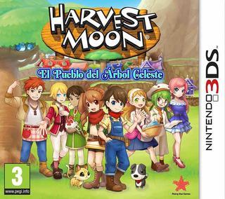 Harvest Moon: El Pueblo Del Árbol Celeste-Nintendo 3DS