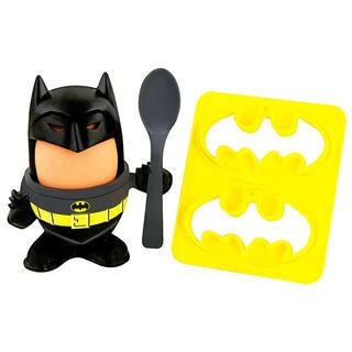 Huevera + Cortador Pan Batman Dc Comics-