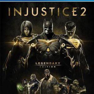 Injustice 2 Legendary Edition-Sony Playstation 4