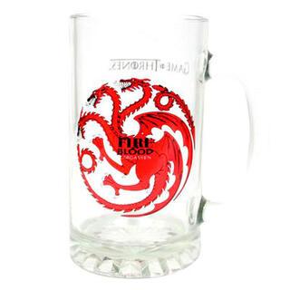 Jarra Cristal Fire and Blood Targaryen Juego de Tronos-