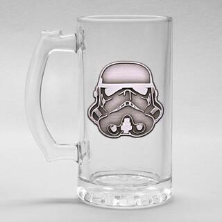 Jarra Cristal Stormtrooper Star Wars-
