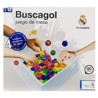 Juego Buscagol Real Madrid-