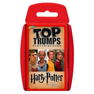 Juego Cartas Harry Potter y el Caliz de Fuego Top Trumps-
