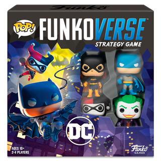Juego Mesa Pop Funkoverse Dc Comics 4fig Español-