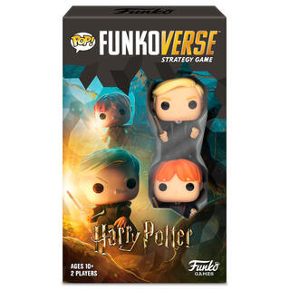 Juego Mesa Pop Funkoverse Harry Potter 2fig Español-